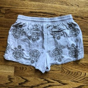 Anthropologie Shorts - Anthropologie linen shorts